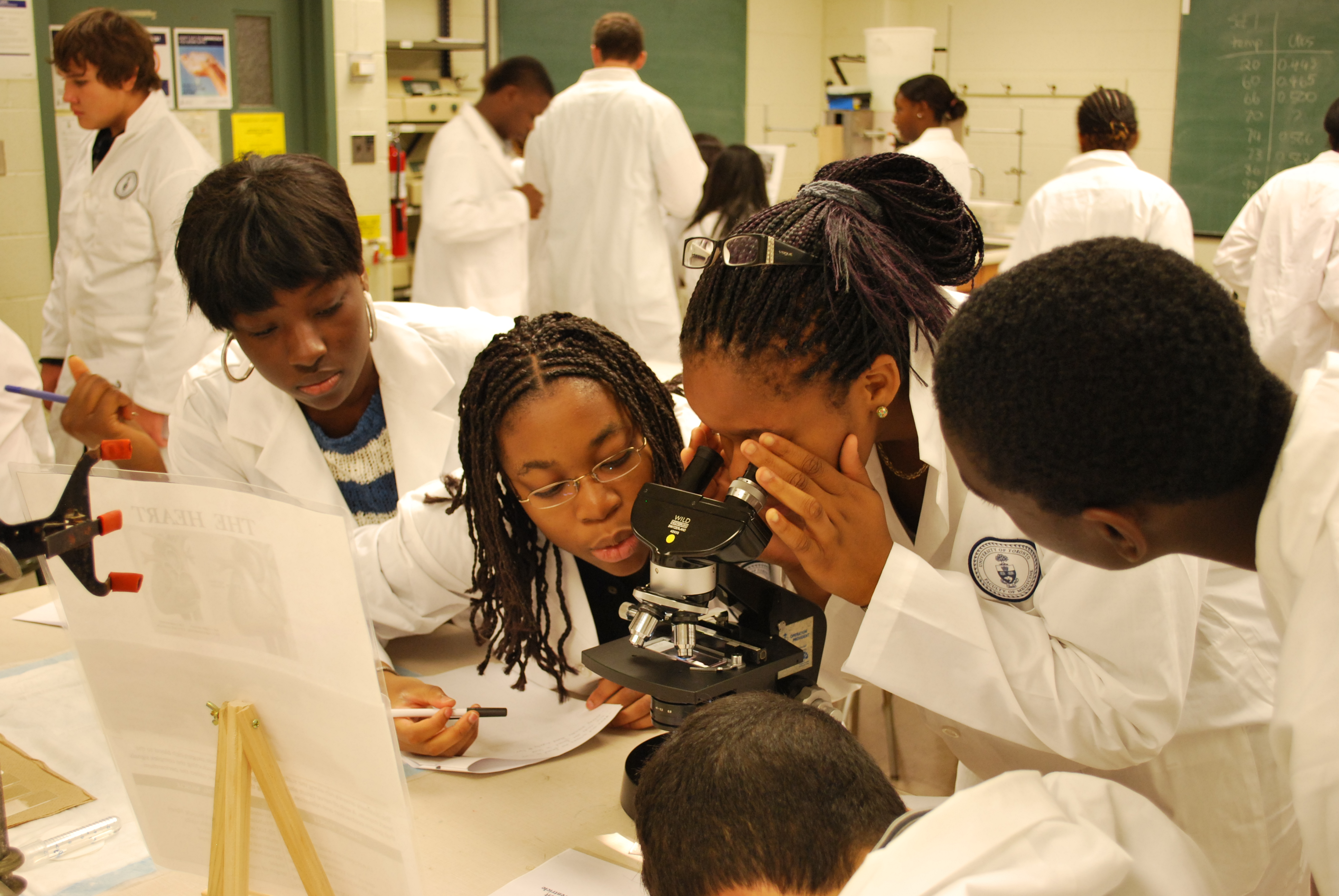 the community of support helps black students develop