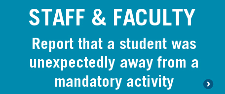 Absence Button - Staff and Faculty