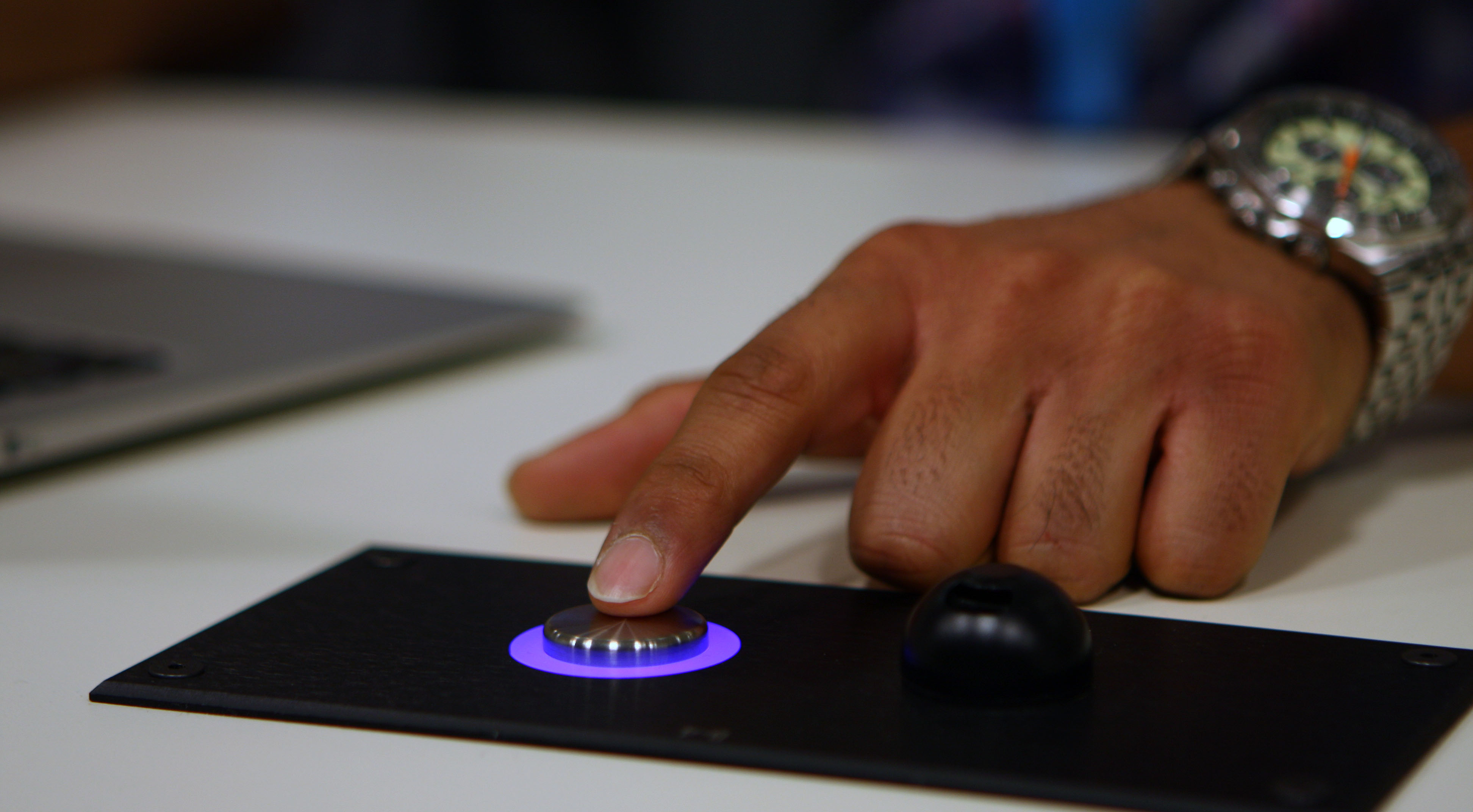Videoconference question button