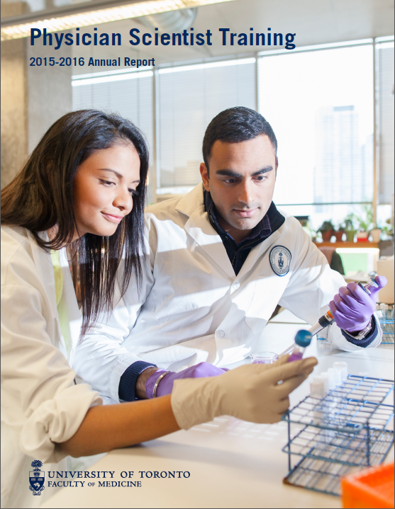 Physician Scientist Training Annual Report