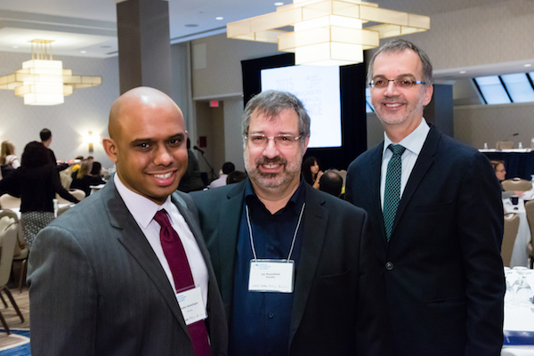 Drs. Sanjeev Sockalingam, Jay Rosenfield and Dean Trevor Young