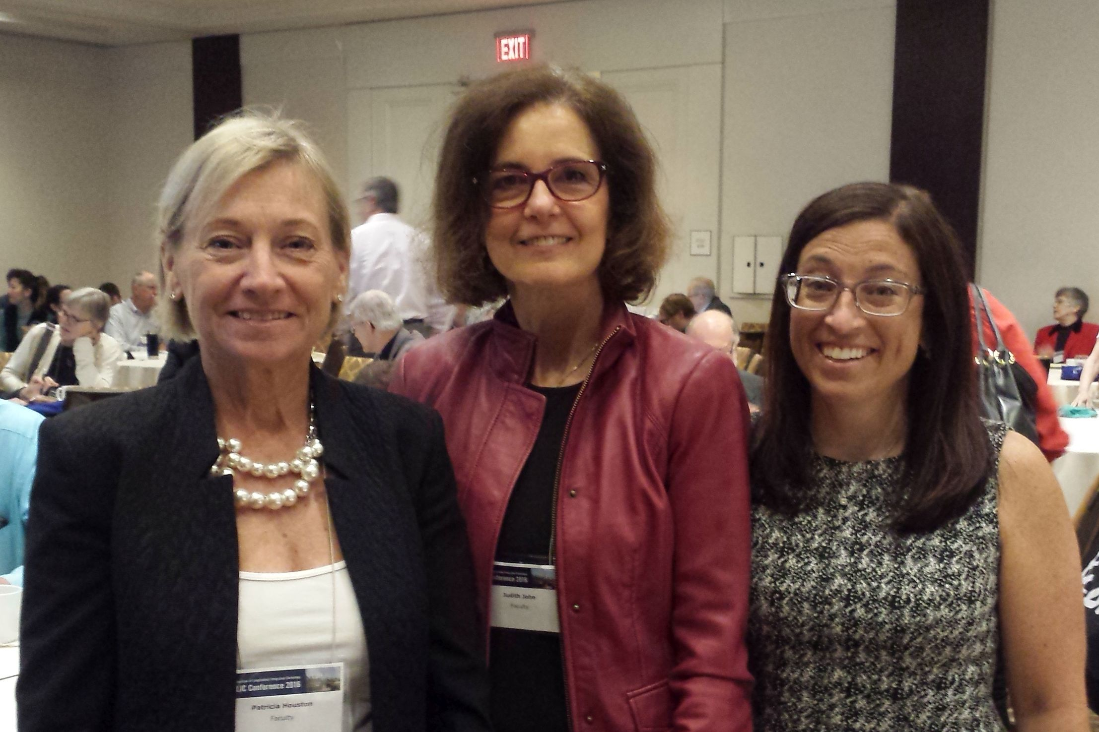 MD Program Vice Dean Patricia Houston joins plenary speaker Judith John and Clerkship Director Stacey Bernstein