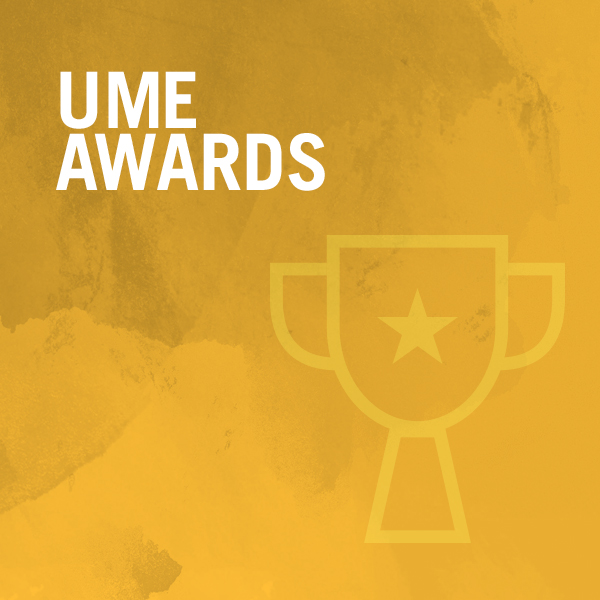 UME Awards graphic
