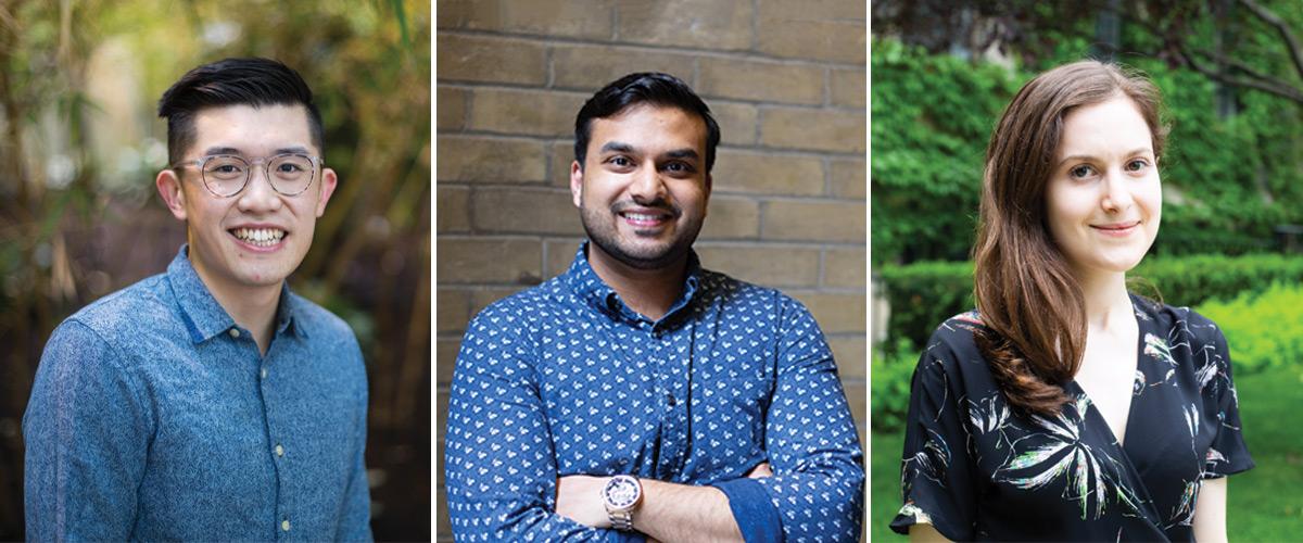 Cieran Tran, Dhruv Jain and  Lianne Rotin