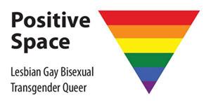Positive Space lesbian gay bisexual transgender queer